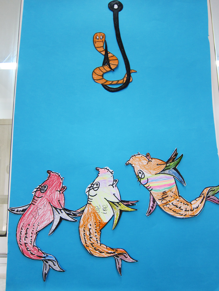 1000 images about books seuss one fish on pinterest for Dr suess fish